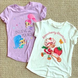 Set of two character tshirts - 3t